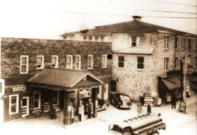 The Building in 1940